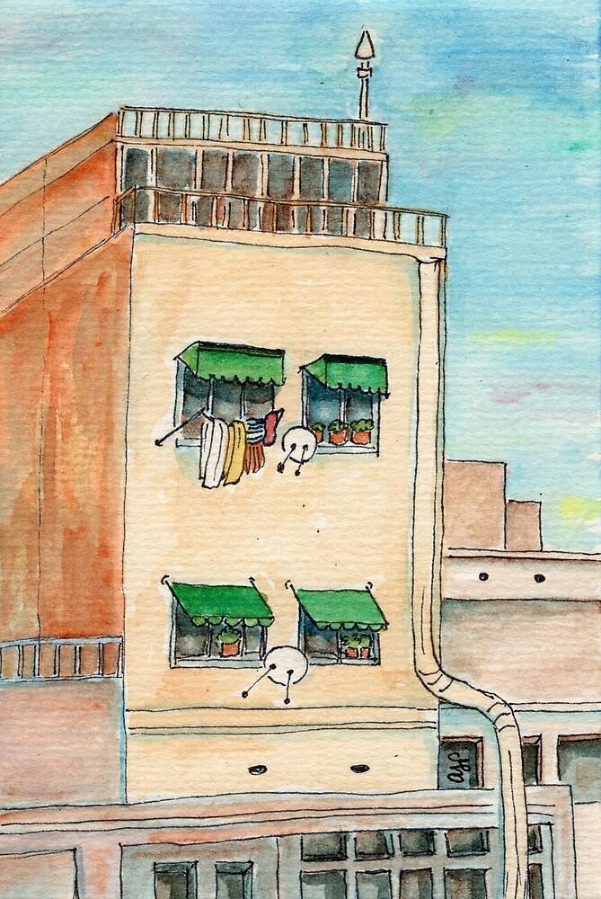 Barcelona Laundry Day by ajparis
