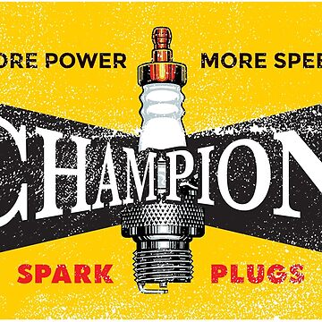 Vintage Spark Plug by vintageracer