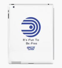 """World of Motion """"It's Fun To Be Free"""" iPad Case/Skin"""