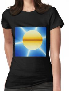 Ultra Fractal 1 Womens Fitted T-Shirt