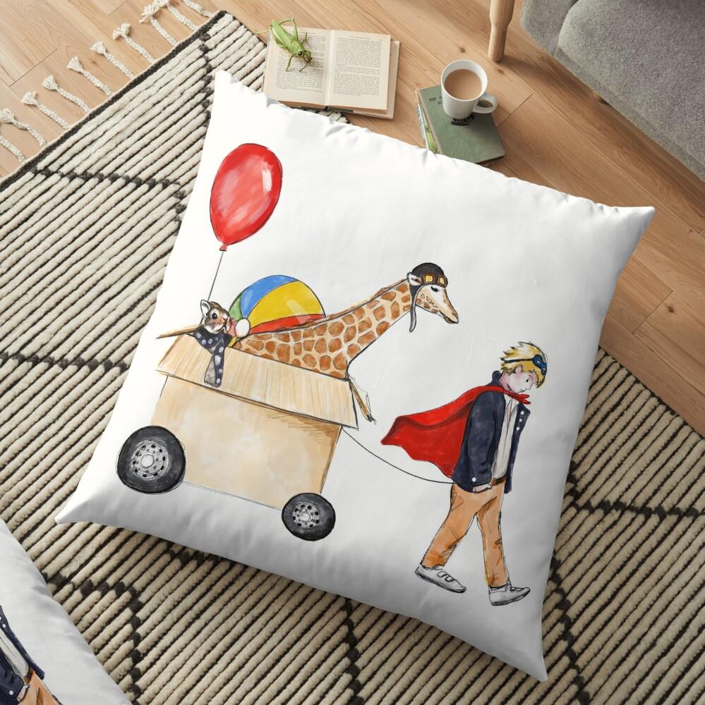 Dreams will follow you Floor Pillow