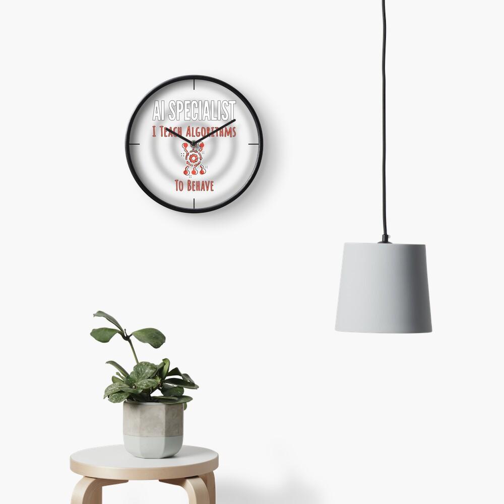 AI Specialist. Clock