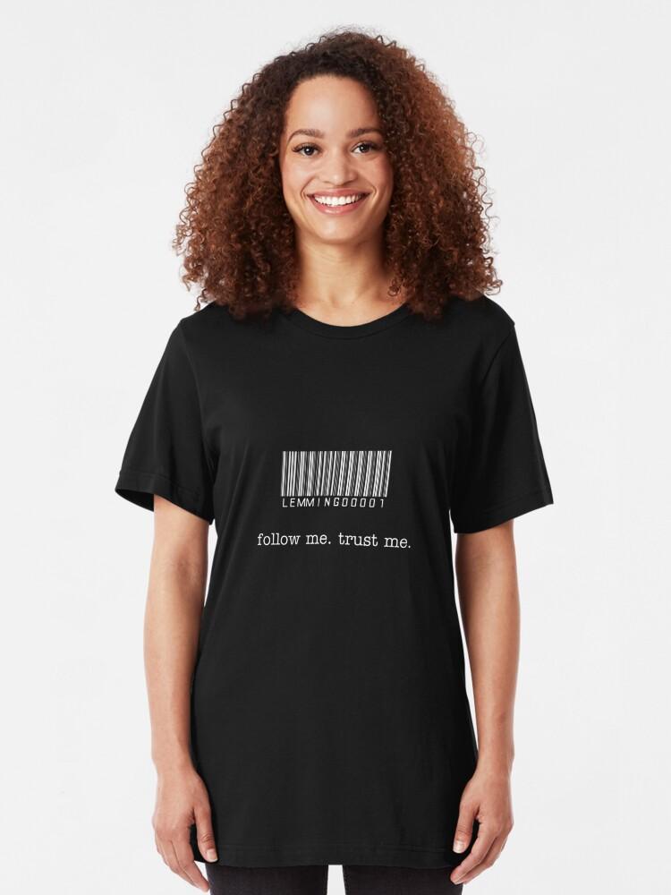 Alternate view of Lead Lemming T-Shirt Slim Fit T-Shirt