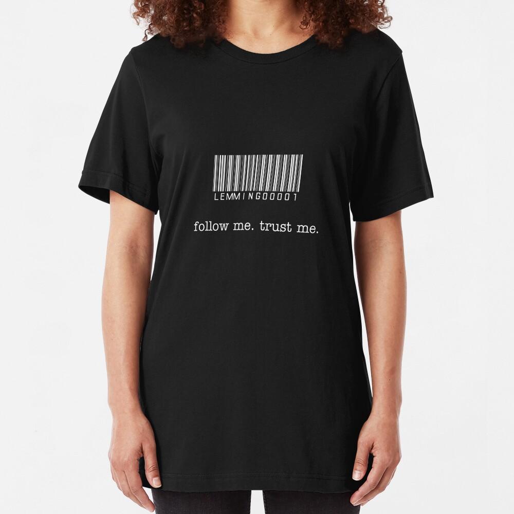 Lead Lemming T-Shirt Slim Fit T-Shirt