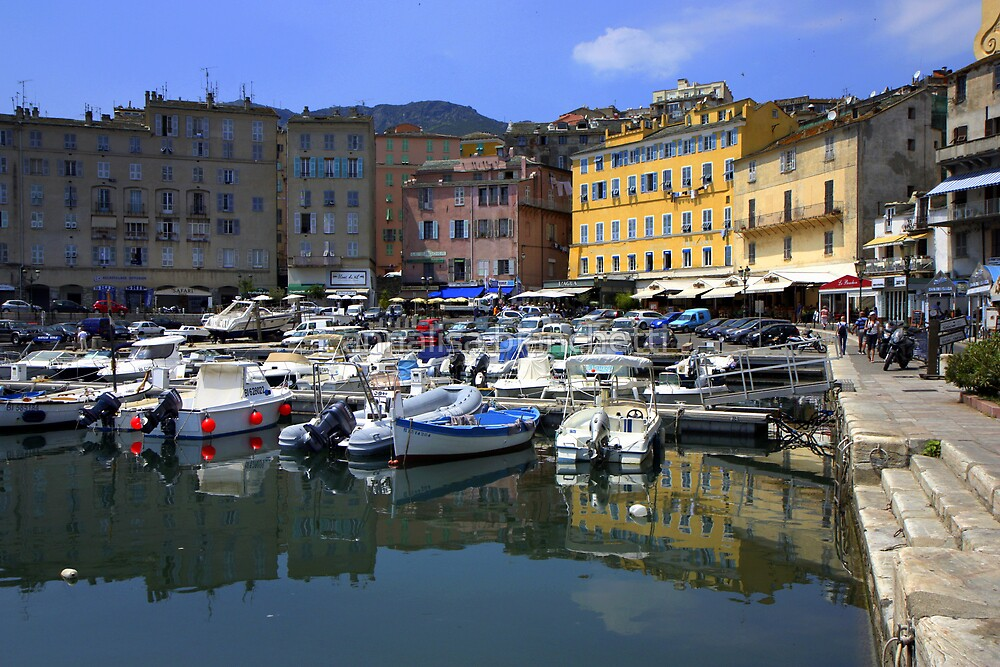 Bastia Harbor by annalisa bianchetti