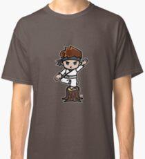 Martial Arts/Karate Boy - Crane one-legged stance Classic T-Shirt