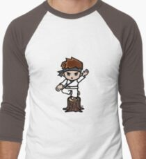 Martial Arts/Karate Boy - Crane one-legged stance T-Shirt