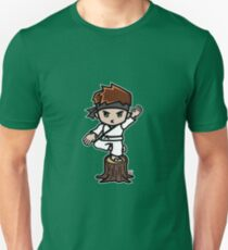 Martial Arts/Karate Boy - Crane one-legged stance T-Shirt
