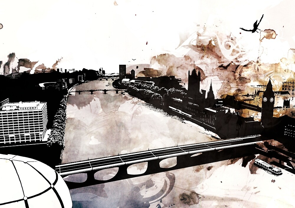 The River Thames by Jonathan Lam