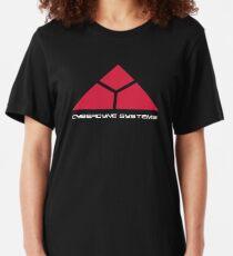 Cyberdyne Logo Design #1 Slim Fit T-Shirt