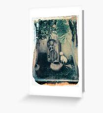 chiang mai polaroid image transfer Greeting Card