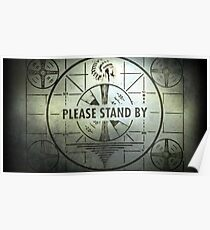 Please Stand By Poster