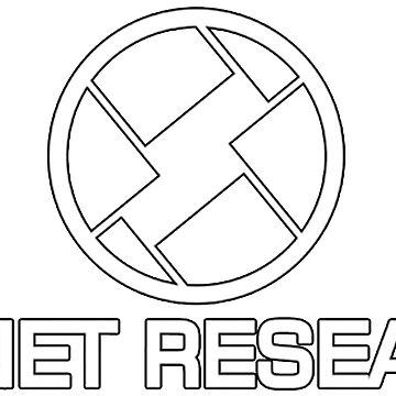 Skynet Research - Logo in white by NoirGraphic