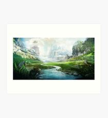 The Mystical River Art Print