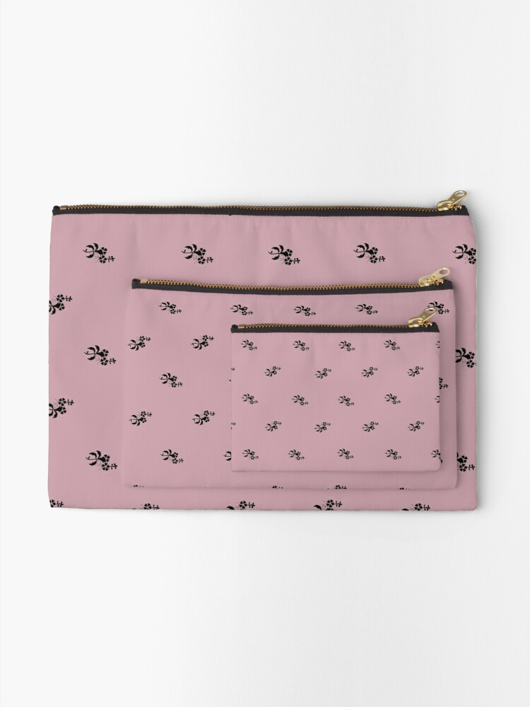 Alternate view of Scattered flowers trend color 2020 Zipper Pouch