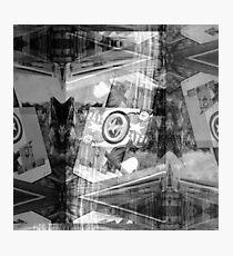 P1430771 _Luminance _Rasterbator _XnView _GIMP Photographic Print