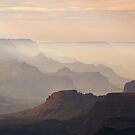 Misty Canyon view from Lipan Point by Alex Cassels