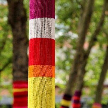 Tree Socks by frostwhiteraven