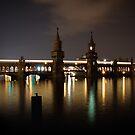 Oberbaum Bridge by Conor MacNeill