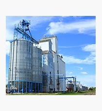 Grain Elevators Photographic Print