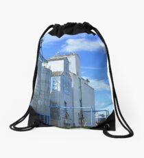Grain Elevators Drawstring Bag