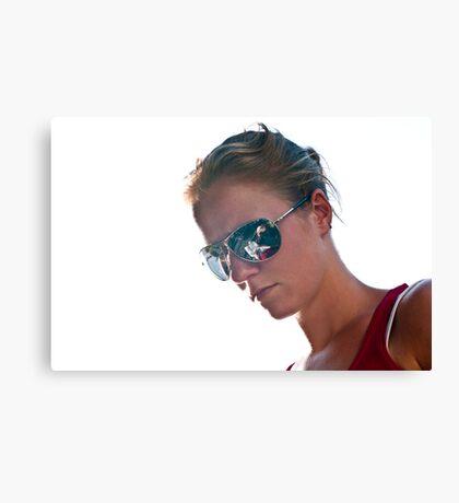 Shiny Glasses Canvas Print