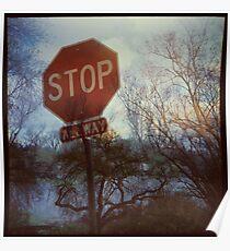 Flood Warning Poster