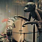 monkey puppet by richard  webb