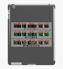 Back to the Future 2 Time Circuits 2015 iPad Case/Skin