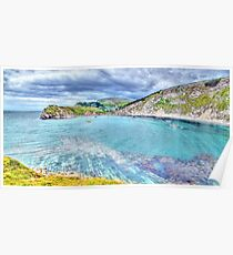 Lulworth Cove - HDR Poster