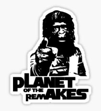 Planet of the Remakes Sticker