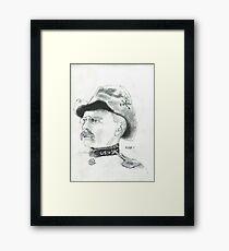 Theodore Roosevelt Framed Print