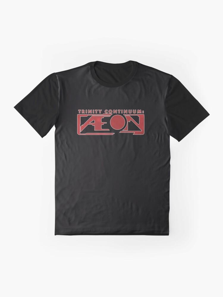 Alternate view of Trinity Continuum: Æon logo Graphic T-Shirt