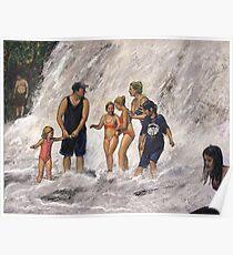 Willow River Falls Poster