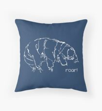 Oh Noes a Water Bear!  Throw Pillow