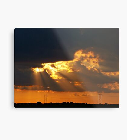 Rays of Hope Metal Print
