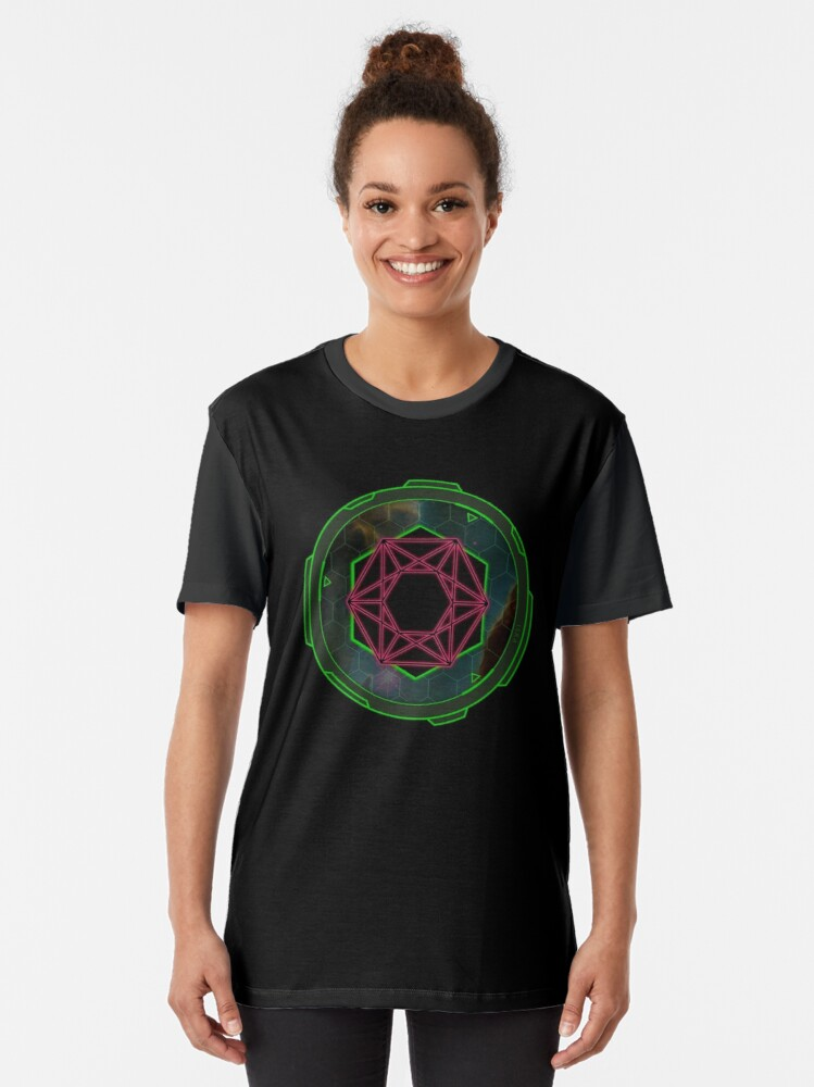 Alternate view of ISRA: The Interplanetary School for Research and Advancement Graphic T-Shirt