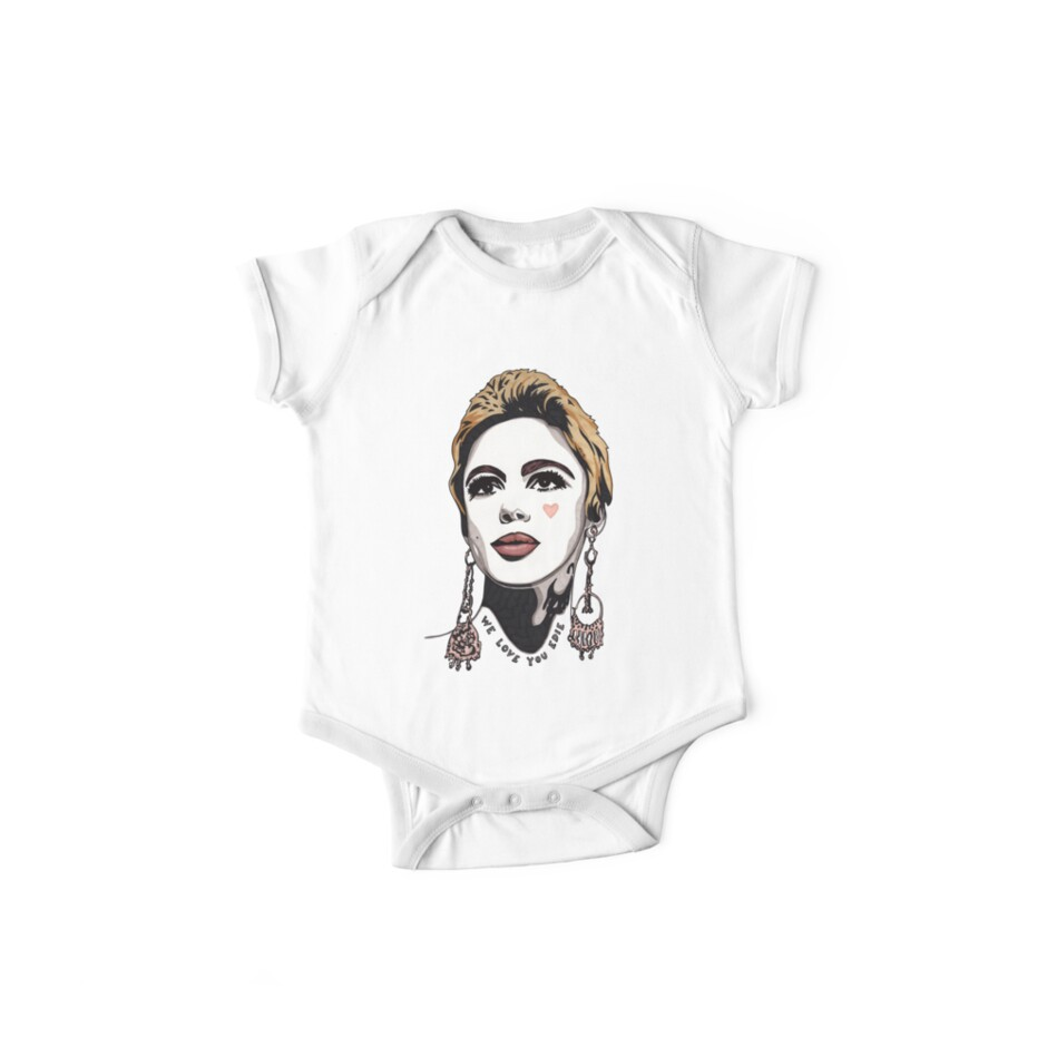We Love You Edie t-shirt by Angelique  Moselle