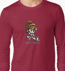Martial Arts/Karate Girl - Deadly Weapon Long Sleeve T-Shirt