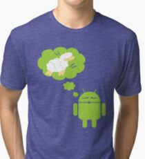 DROID Dreaming of an Electric Sheep Tri-blend T-Shirt