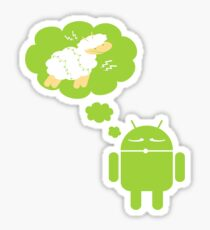 DROID Dreaming of an Electric Sheep Sticker
