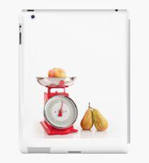 Kitchen red weight scale utensil iPad Case/Skin