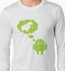 DROID Dreaming of an Electric Sheep (iron-on look) T-Shirt