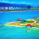 Mokauea Island Honolulu,Oahu by jyruff