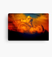 """CRAZY CLOUD"" Canvas Print"