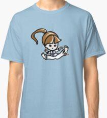 Martial Arts/Karate Girl - Jumping Split Kick Classic T-Shirt
