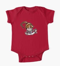 Martial Arts/Karate Girl - Jumping Split Kick Kids Clothes