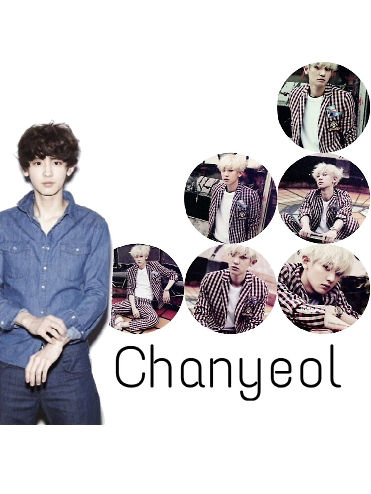 Chanyeol then - now  by satansaysyo