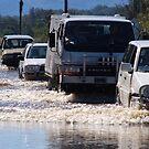 Harrington Rd Flooded by Graham E Mewburn