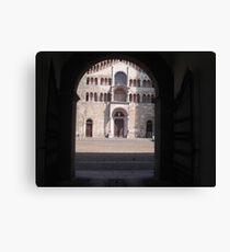 IL DUOMO DI PARMA...ITALY... Europa-- 2000 visualizzaz agosto 2013 -VETRINA RB EXPLORE 26 DICEMBRE 2012 -- Canvas Print